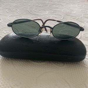 Ray-Ban W2979 Sidestreet Diner Oval Sunglasses